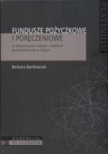 Okładka książki Fundusze pożyczkowe i poręczeniowe