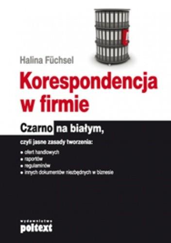 Okładka książki Korespondencja w firmie