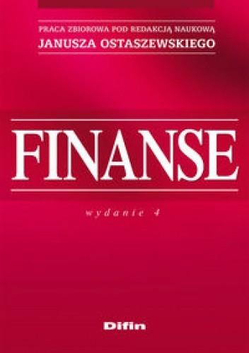 Okładka książki Finanse