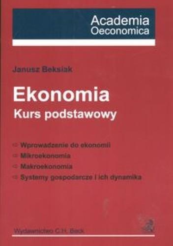 Okładka książki Ekonomia Kurs podstawowy