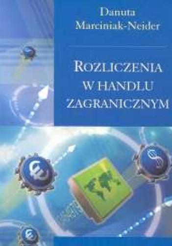 Okładka książki Rozliczenia w handlu zagranicznym