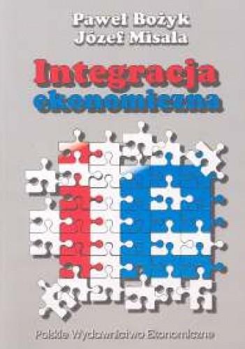 Okładka książki Integracja ekonomiczna