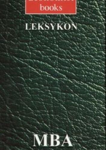 Okładka książki MBA Leksykon