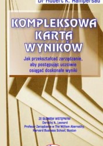 Okładka książki Kompleksowa Karta Wyników