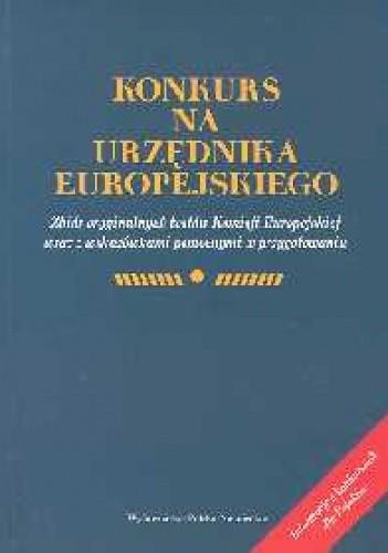 Okładka książki Konkurs na urzędnika europejskiego