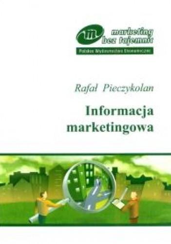 Okładka książki Informacja marketingowa - seria: Marketing bez tajemnic