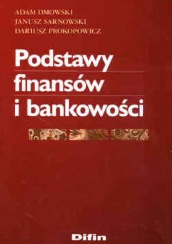 Okładka książki Podstawy finansów i bankowości