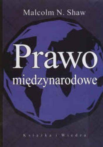 Okładka książki Prawo międzynarodowe