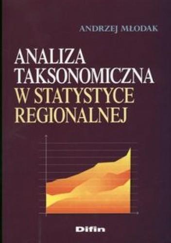 Okładka książki Analiza taksonomiczna w statystyce regionalnej