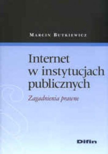 Okładka książki Internet w instytucjach publicznych