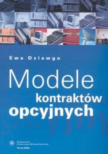 Okładka książki Modele kontraktów opcyjnych