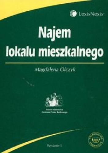Okładka książki Najem lokalu mieszkalnego