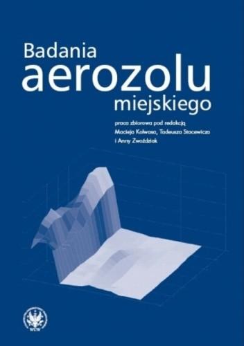Okładka książki Badania aerozolu miejskiego