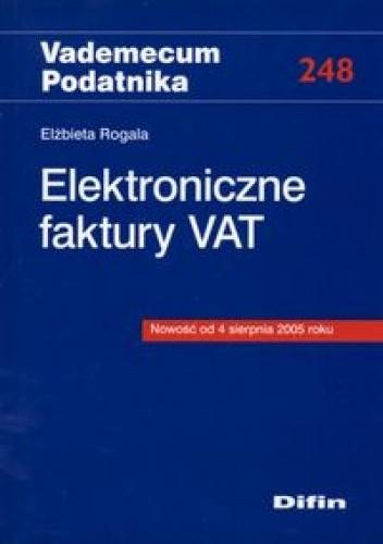 Okładka książki Elektroniczne faktury Vat