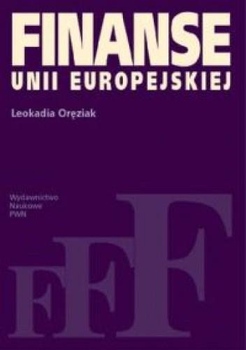 Okładka książki Finanse Unii Europejskiej