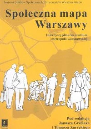 Okładka książki Społeczna mapa Warszawy