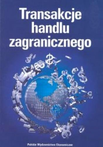 Okładka książki Transakcje handlu zagranicznego