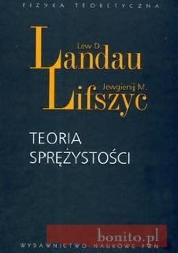 Okładka książki Teoria sprężystości