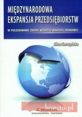 Okładka książki Miedzynarodowa ekspansja przedsiebiorstw