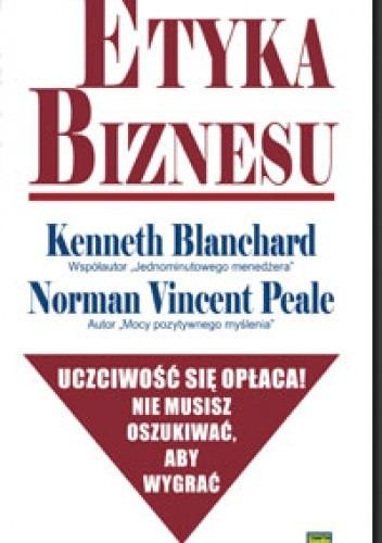 Okładka książki Etyka biznesu