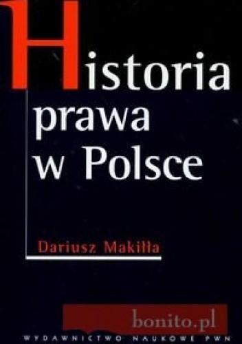 Okładka książki Historia prawa w Polsce