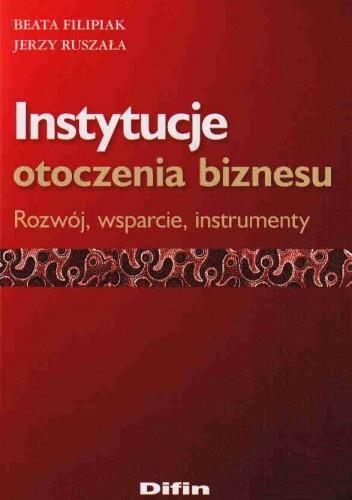 Okładka książki Instytucje otoczenia biznesu