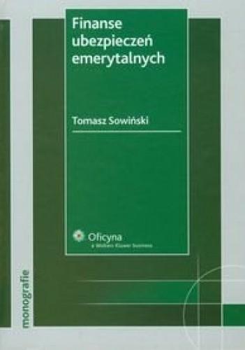 Okładka książki Finanse ubezpieczeń emerytalnych