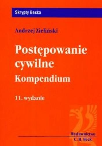 Okładka książki Postępowanie cywilne. Kompedium