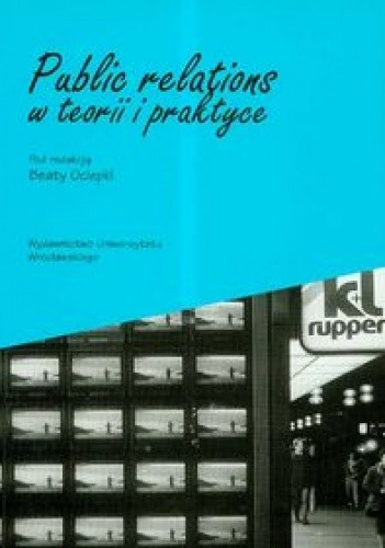 Okładka książki Public relations w teorii i praktyce