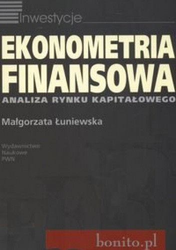 Okładka książki Ekonometria finansowa