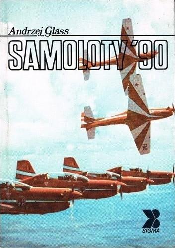 Okładka książki Samoloty '90