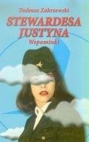 Okładka książki Stewardesa Justyna. Wspominki