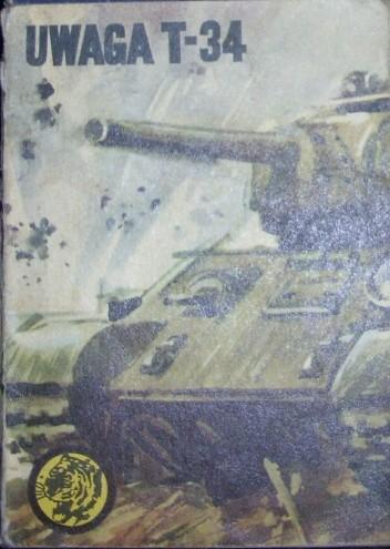 Okładka książki Uwaga T-34