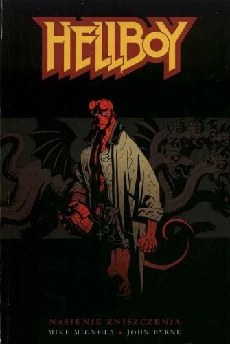 Okładka książki Hellboy: Nasienie Zniszczenia
