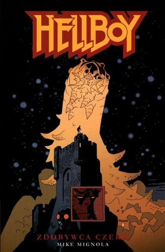 Okładka książki Hellboy: Zdobywca Czerw
