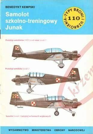 Okładka książki Samolot szkolno-treningowy Junak
