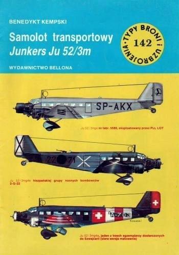 Okładka książki Samolot transportowy Junkers Ju 52/3m