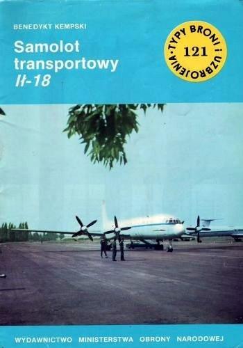 Okładka książki Samolot transportowy Ił-18