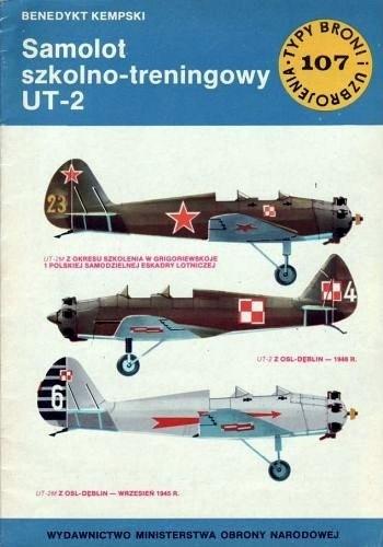 Okładka książki Samolot szkolno-treningowy UT-2