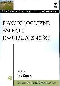 Okładka książki Psychologiczne aspekty dwujęzyczności