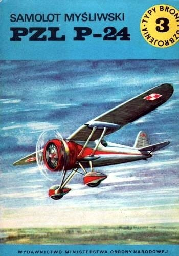 Okładka książki Samolot myśliwski PZL P-24