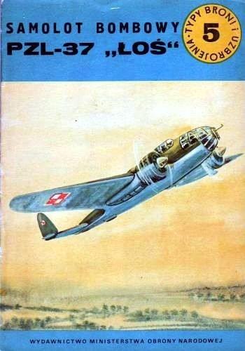 Okładka książki Samolot bombowy PZL-37 ŁOŚ