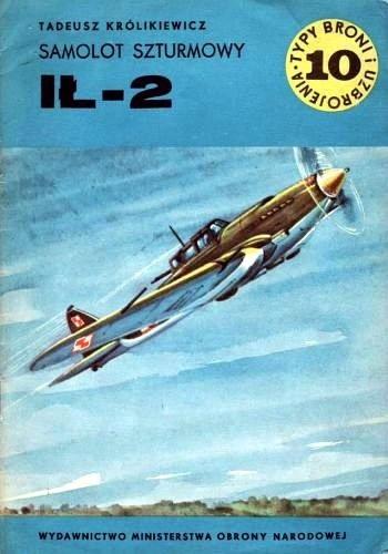 Okładka książki Samolot szturmowy IŁ-2