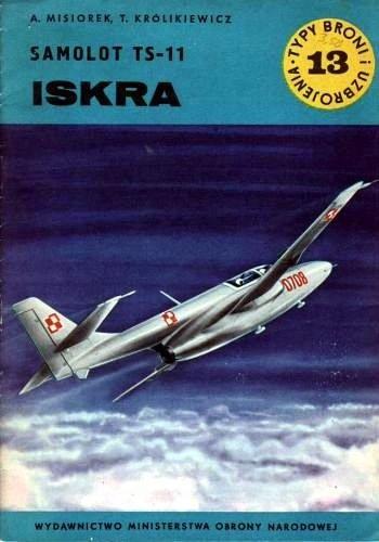 Okładka książki Samolot TS-11 Iskra