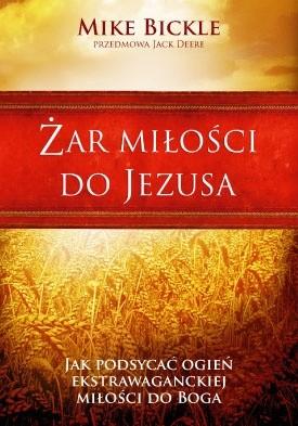 Okładka książki Żar miłości do Jezusa