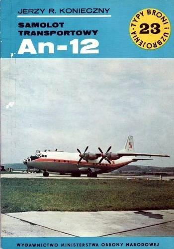 Okładka książki Samolot transportowy An-12