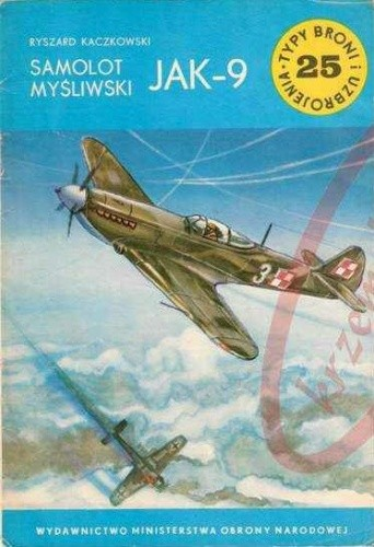 Okładka książki Samolot myśliwski Jak-9