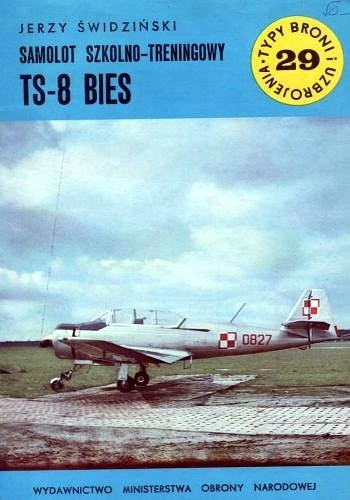 Okładka książki Samolot Szkolno-Treningowy TS-8 Bies