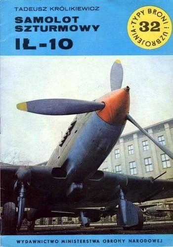 Okładka książki Samolot Szturmowy Ił-10