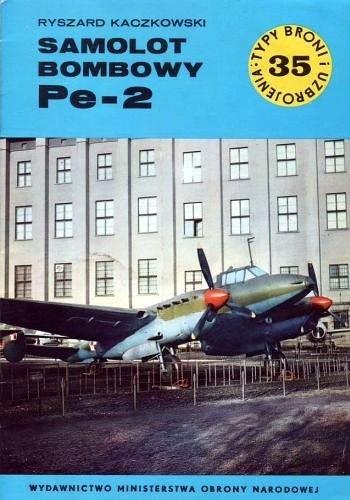 Okładka książki Samolot bombowy Pe-2